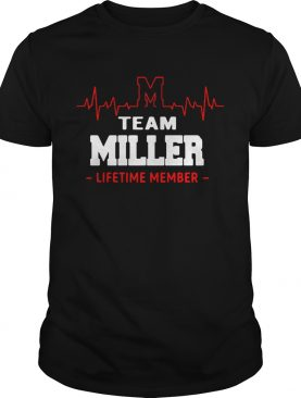 Heartbeat M team Miller lifetime member shirt