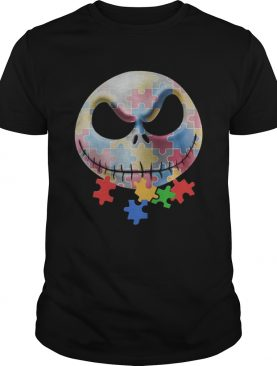 Jack Skellington Autism Awarenessshirt