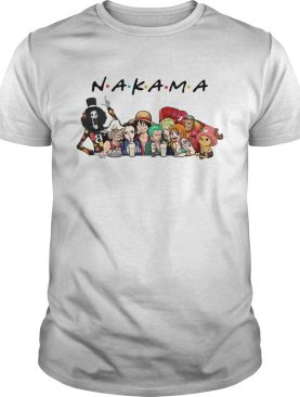 Nakama One Piece Friends tv show shirt
