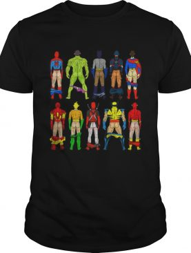 Original Superhero DC And Marvel Show Ass shirt