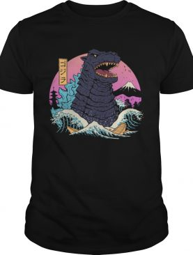 Rad zilla wave shirt womens tshirt