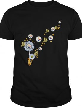 Steelers Pittsburgh logo Butterfly fly shirt