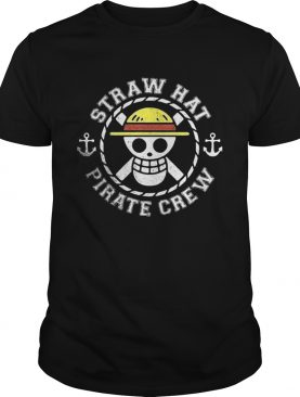 Straw hat pirate crew shirt