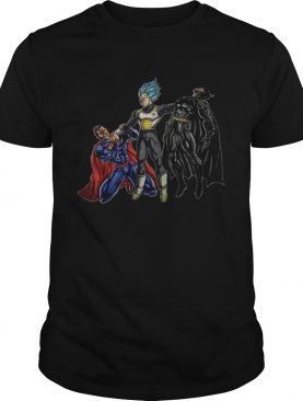 Vegeta vs Superman And Batman shirt