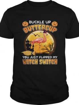 You Just Flipped My Witch Switch Flamingo Lady TShirt