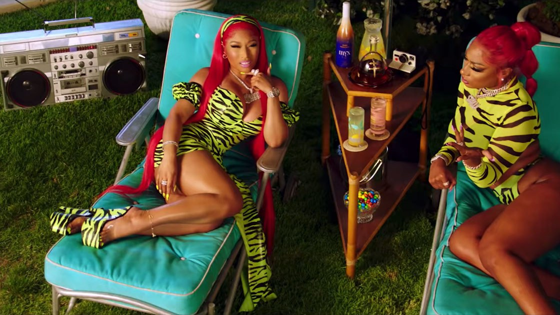Megan Thee Stallion and Nicki Minaj Close Out Hot Girl Summer in Matching Style