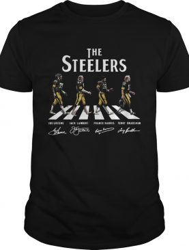 Abbey Road The Steelers signature shirt