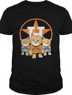 Cat Houston Astros shirt