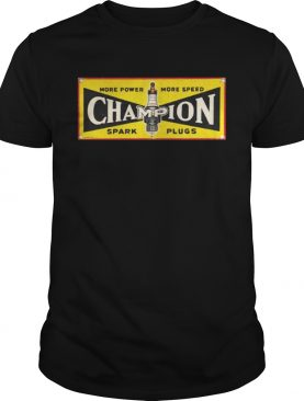Champion Spark Plugs Shirt