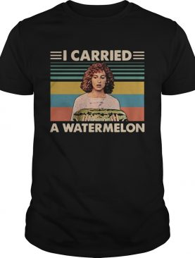 Dirty Dancing I carried a watermelon vintage shirt