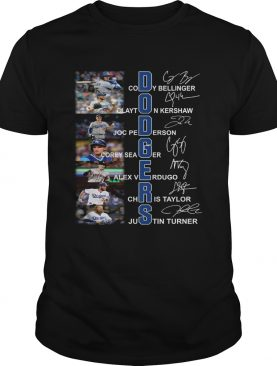Dodgers all Players signature shirt