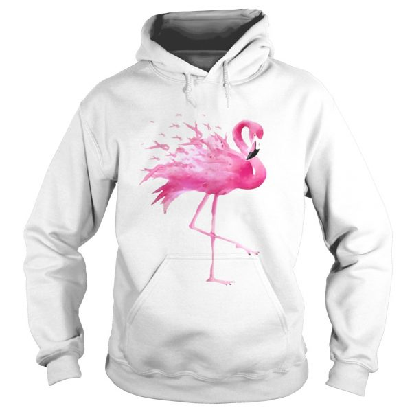 Flamingo Pink Ribbon Breast Cancer Awareness  Hoodie