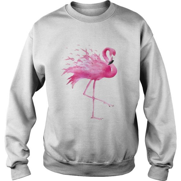 Flamingo Pink Ribbon Breast Cancer Awareness  Sweatshirt