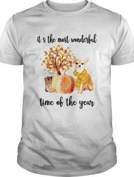 Halloween Chihuahua Its The Most Wonderful Time Of The Year Shirt