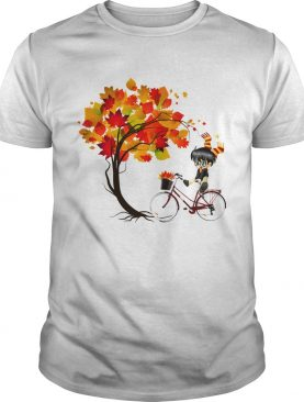 Harry Potter Bicycle Autumn shirt
