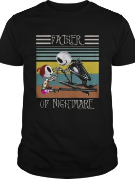 Jack Skellington Father of nightmare vintage shirt