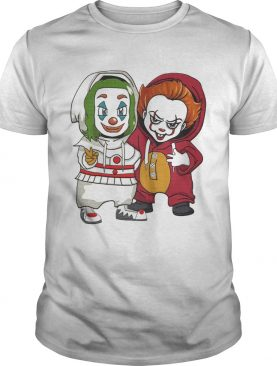 Joker and Pennywise friends shirt