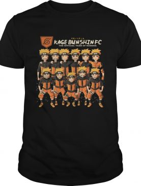 Kage Bunshin FC the official team of Konoha Naruto shirt