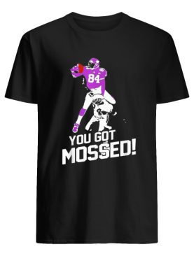 Randy Moss Over Charles Woodson you got mossed 84 shirt