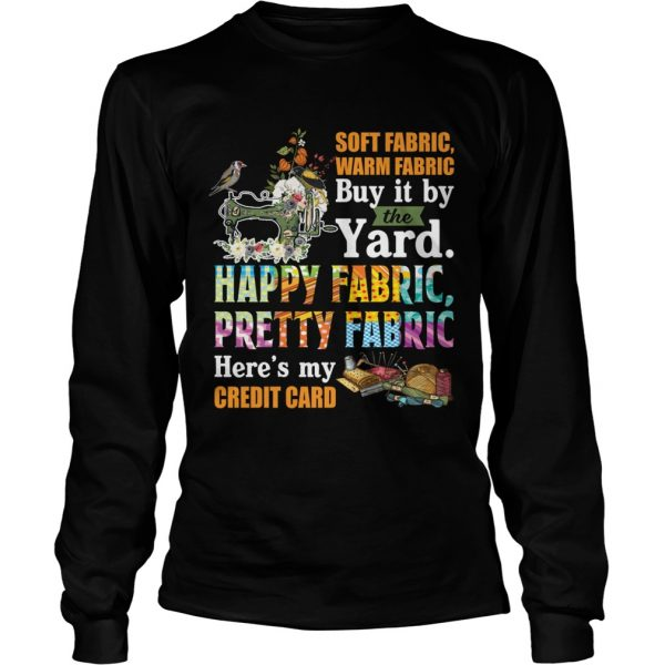 Soft Fabric Warm Fabric Buy It By The Yard Funny Sewing Quilting Lovers Shirt LongSleeve