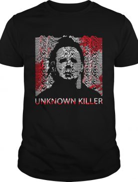 Unknown Killer Michael Myers Poster Joy Division shirt
