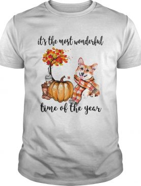 Welsh Corgi its the most wonderful time of the year shirt