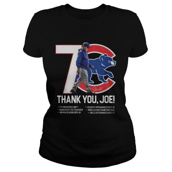 7 Chicago Cubs thank you Joe Maddon Rumors  Classic Ladies