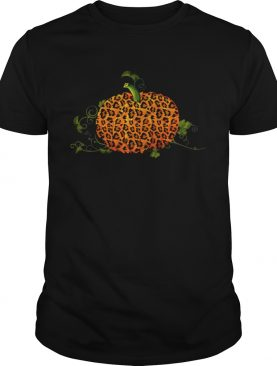 Animal Leopard Pumpkin Fall Autumn Halloween Gift TShirt