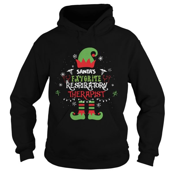 ELF Santas Favorite Respiratory therapist  Hoodie