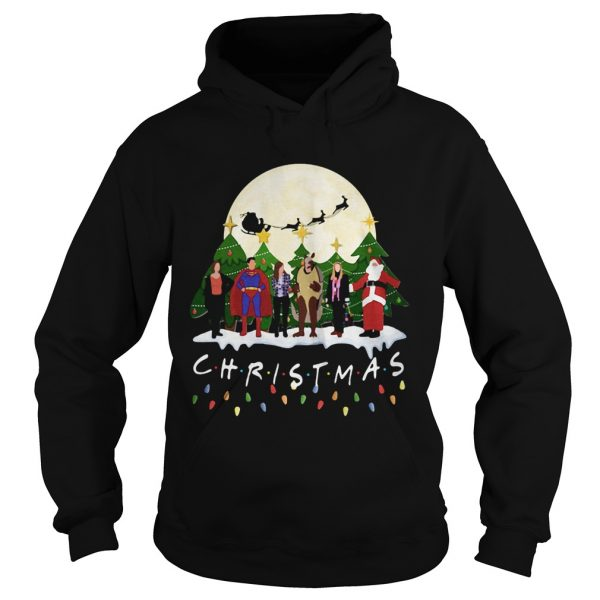 Friends Christmas the one with halloween party  Hoodie