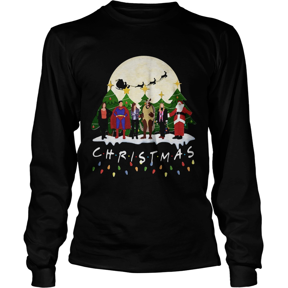 Friends Christmas the one with halloween party  LongSleeve