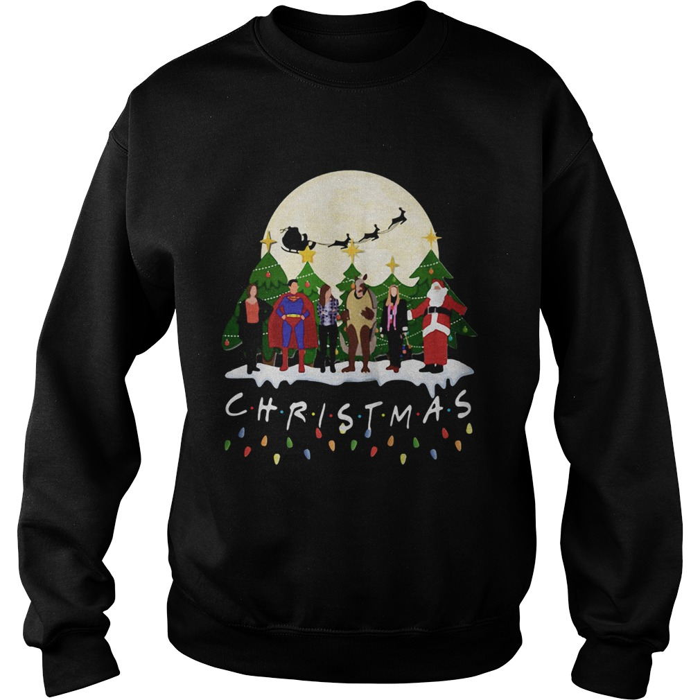Friends Christmas the one with halloween party  Sweatshirt