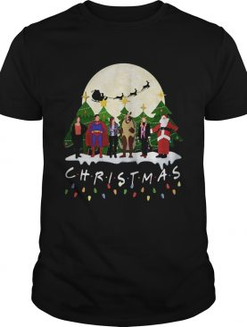 Friends Christmas the one with halloween party shirt