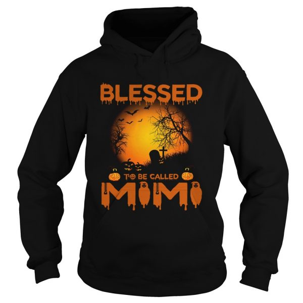 Halloween Women Mom Blessed To Be Called Mimi TShirt Hoodie