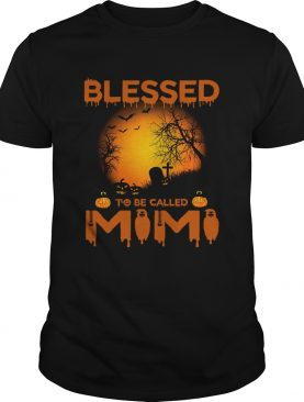Halloween Women Mom Blessed To Be Called Mimi TShirt