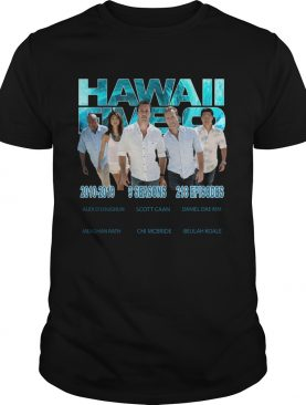 Hawaii Fiveo 2010 2019 9 seasons 218 episodes shirt