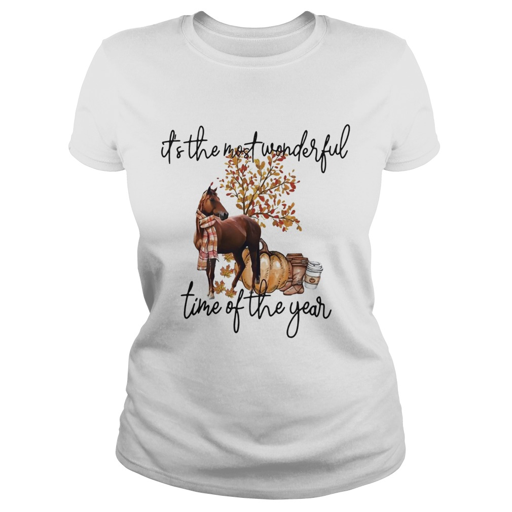 Horse its the most wonderful time of the year  Classic Ladies