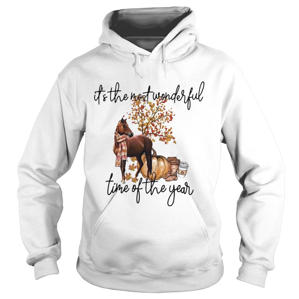 Horse its the most wonderful time of the year  Hoodie