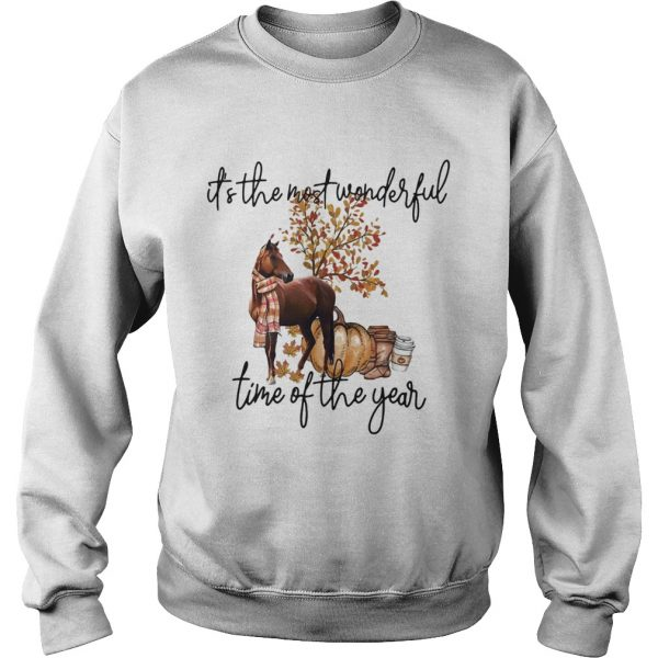 Horse its the most wonderful time of the year  Sweatshirt