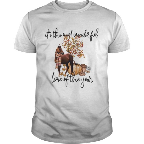 Horse its the most wonderful time of the year  Unisex