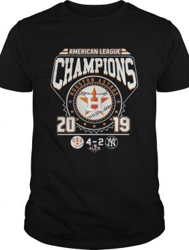 Houston Astros 4 2 New York Yankees American League Champions 2019 shirt