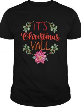 Its Christmas Yall Holiday Wreath Graphic design