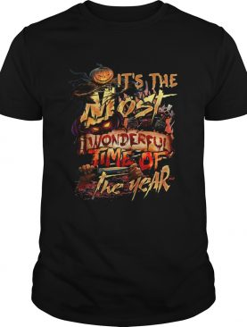 Its the most wonderful time of the year Halloween shirt