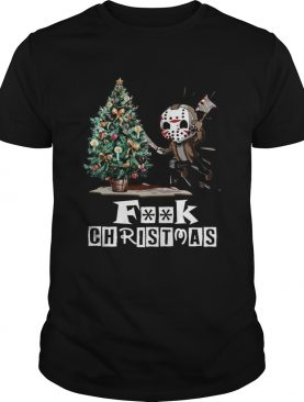 Jason Voorhees fuck ugly Merry Christmas shirt