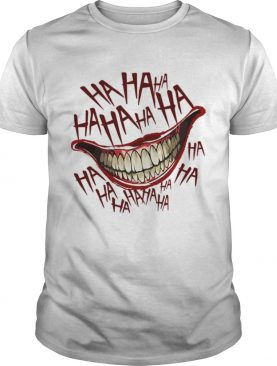 Joker face ha ha ha Halloween shirt
