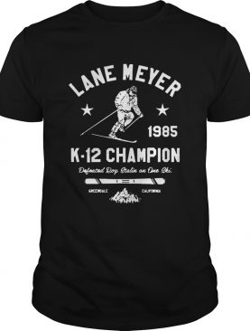 Lane Meyer K12 Champion shirt