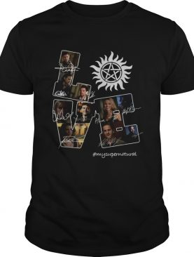 Love mysupernatural shirt