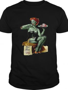 Original Zombie Pin Up Girl Halloween shirt