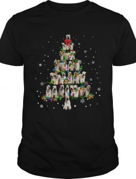 Soft Coated Wheaten Terrier Christmas Tree TShirt