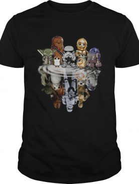 Star Wars chibi water reflection mirror shirt